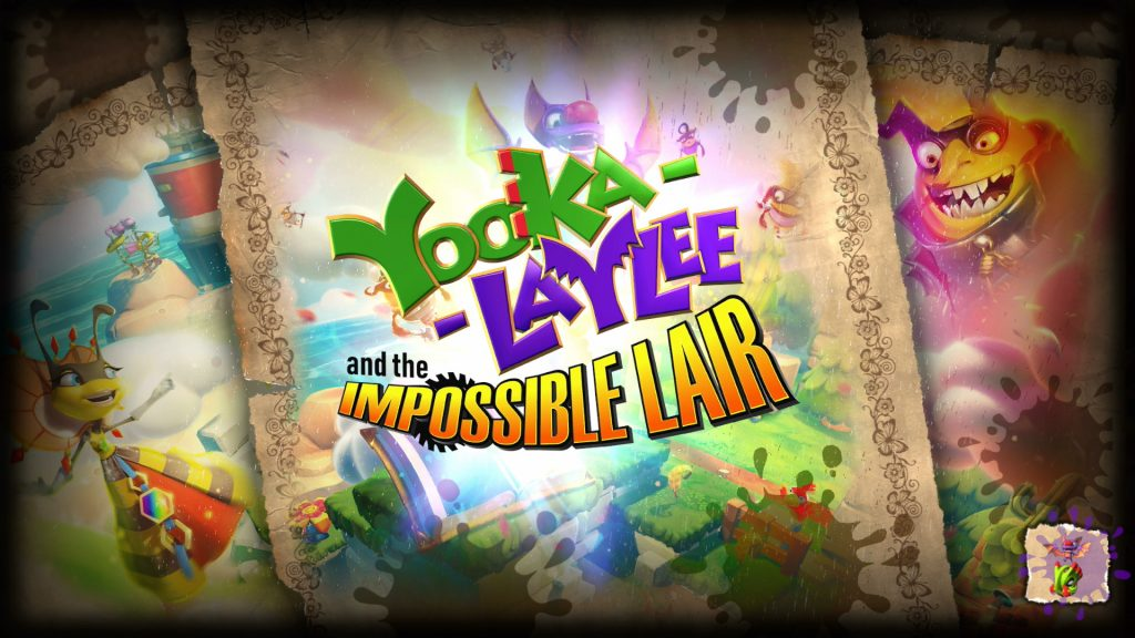Yooka-Laylee Title Screen 2