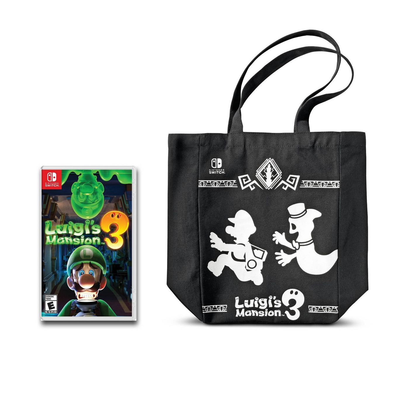 Luigi's Mansion 3 pre-order canvas bag target
